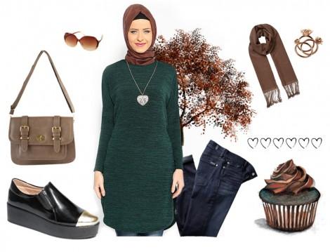 Hesaplı Tesettür Giyim Kombinleri 2015 (4)
