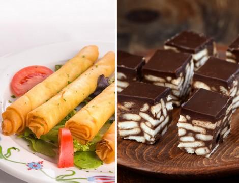 Kalem Böreği ve Mozaik Pasta Tarifi