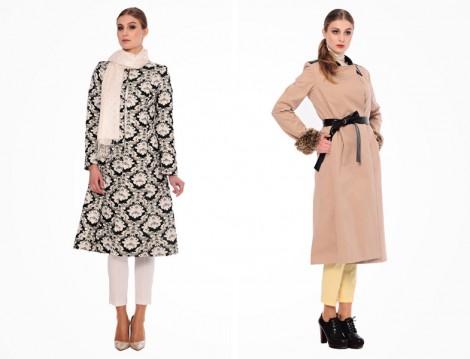 Merve Dağlı for Ladies Manto Modelleri