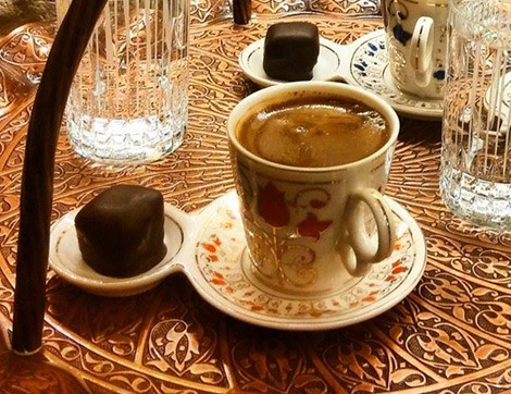 Rumeli Çikolatacısında Çikolata ve Kahvenin Tadı Bir Başka
