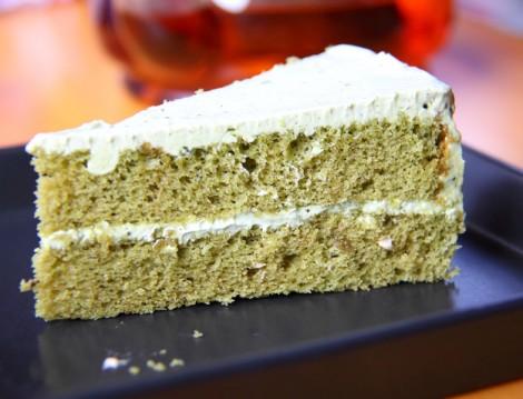 Yeşil Çaylı Kek Tarifi