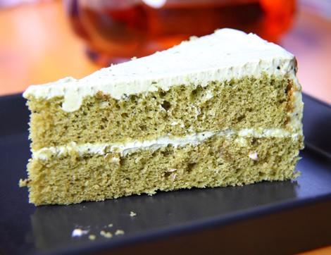 Hiç Yeşil Çaylı Kek Yaptınız mı?