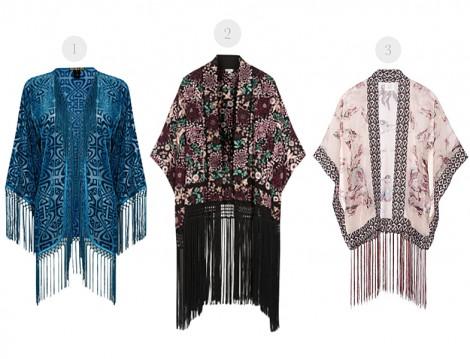 Püsküllü Kimono Modelleri