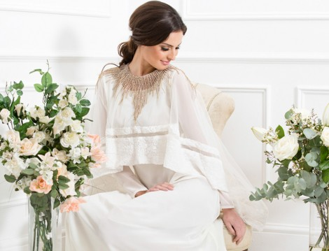 2015 Tesettür Kına Gecesi Elbise ve Kaftan Modelleri