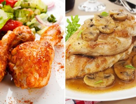 Akşam Yemeği İçin Nefis Soslu Tavuk Tarifleri