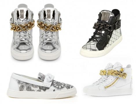 Ayakkabılarda Zincir Trendi