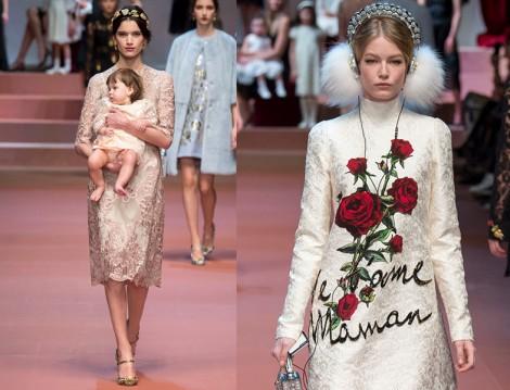 Dolce & Gabbana 2015 Sonbahar-Kış Koleksiyonu