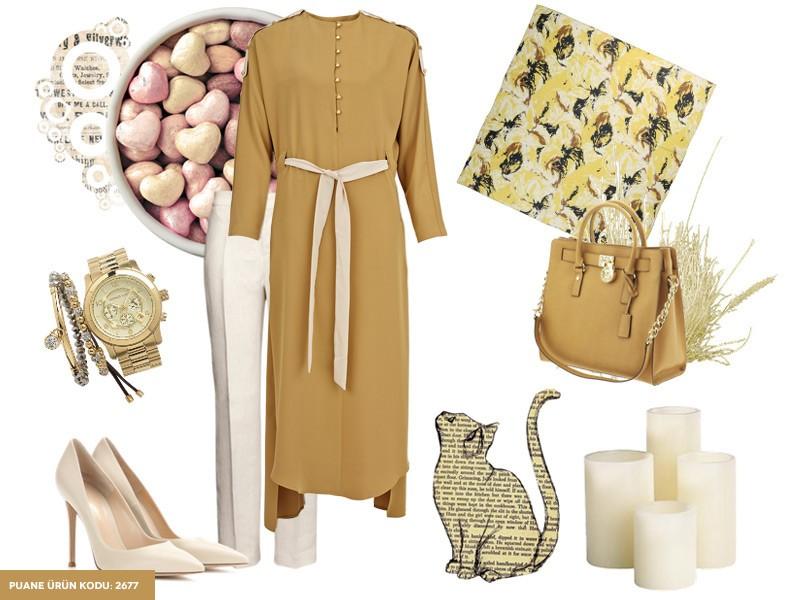 Puane Tesettür Giyim Kombinleri
