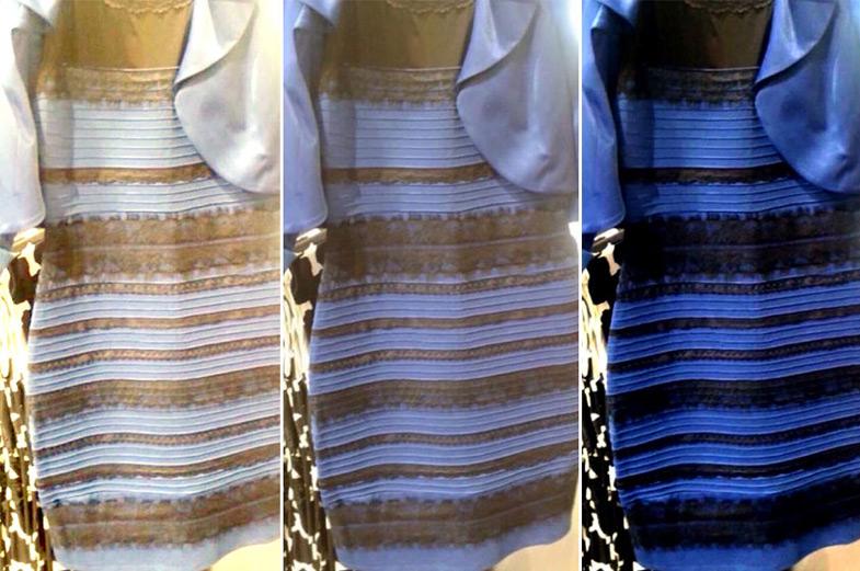 Rengi Tartışma Konusu Olan Elbise