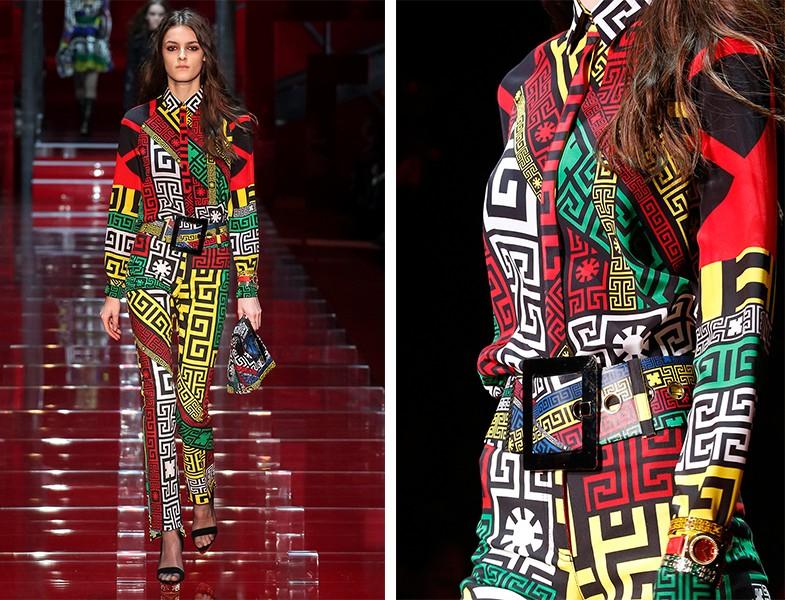 Versace 2015 Sonbahar Kış Koleksiyonu