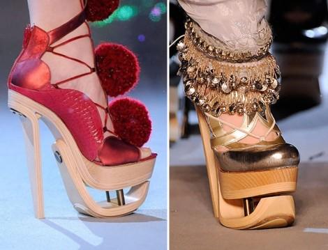 Dekonstrüksiyon Tasarım Ayakkabılar