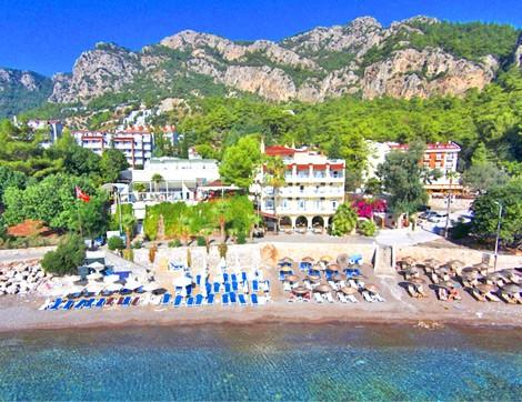 Mavi Bayrak Ödüllü Plajıyla Hotel Mavi Deniz