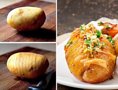 Tereyağlı Yaprak Patates