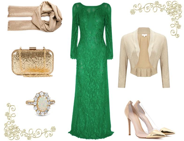 20a84aa170de9 Tesettür Abiye Elbise Modelleriyle Kombin | Resimlerle Tesettür ...