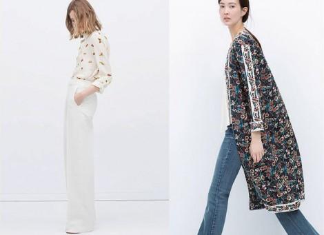 Zara 2015 İlkbahar Yaz Modelleriyle Kombinler