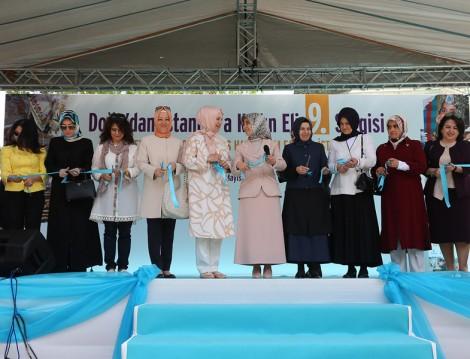 9. Doğu'dan İstanbul'a Kadın Eli Sergisi