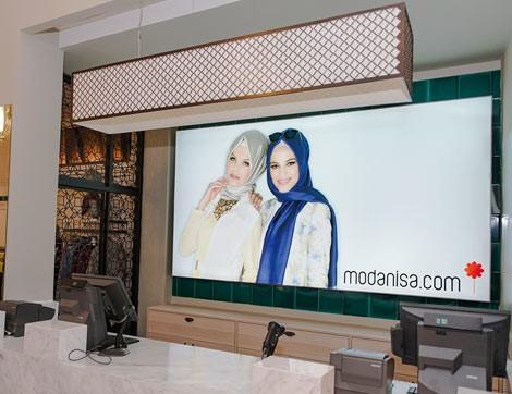 Modanisa İlk Mağazasını Ümraniye'de Açtı
