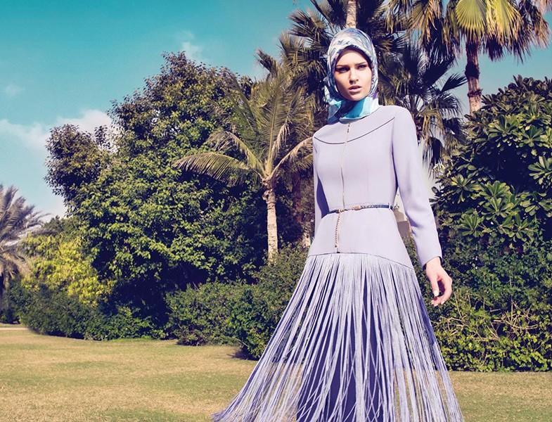 Tesettür Giyim Püsküllü Kap Modeli Kayra