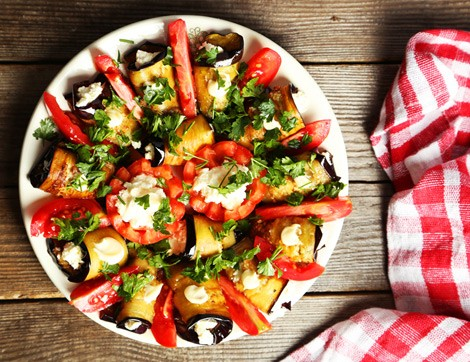 Pratik Bir Yaz Yemeği Rulo Patlıcan