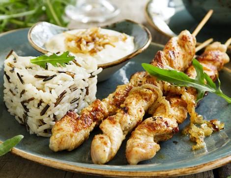 Akşam Yemeğine Farklı Tavuk-Pilav Tarifi