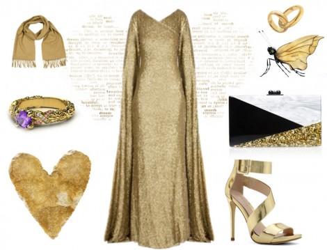 2015 Tesettür Abiye Elbise Kombinasyonları