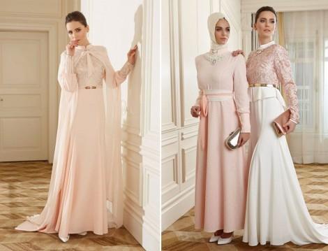 Avanna 2015 Tesettür Abiye Elbise Modelleri
