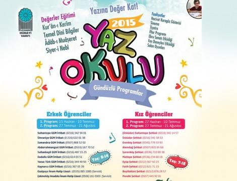 Dini Çocuk Yaz Okulu Programları
