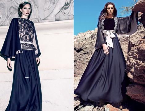 Genç Tesettür Abiye Elbise Modelleri 2015
