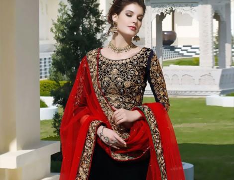 Kına Geceleri için Hint Elbiseleri
