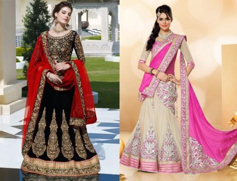 Kına Gecesi Hint Elbiseleri 2015
