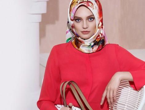 Kırmızı Tesettür Giyim