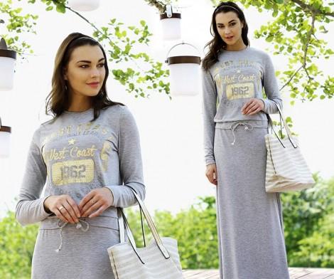 Latifa Uzun Spor Elbise