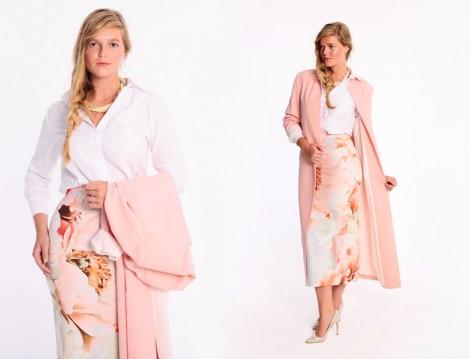 Merve Dağlı for Ladies 2015 Yaz Büyük Beden Tesettür Modelleri