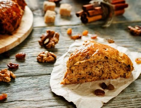 Sahur İçin Cevizli Kolay Çörek Tarifi