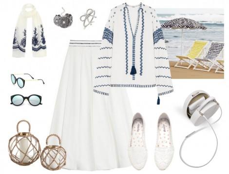 Yazlık Tesettür Giyim Kombinleri