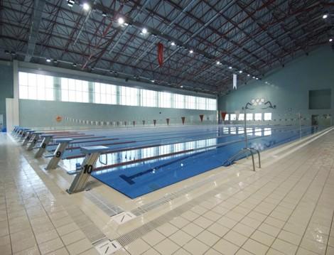 İstanbul'daki Olimpik Havuzlar Fatih