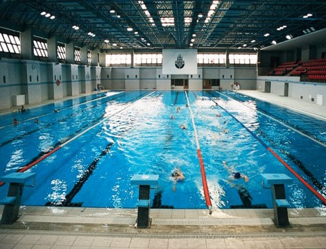 İstanbul'daki Olimpik Havuzlar Hamza Yerlikaya