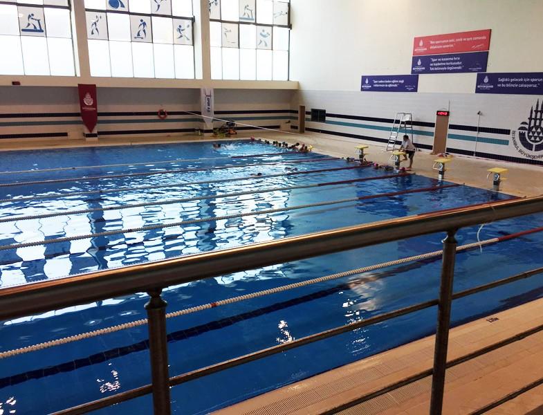 İstanbul'daki Olimpik Havuzlar Hidayet Türkoğlu