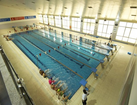 İstanbul'daki Olimpik Havuzlar Sefaköy