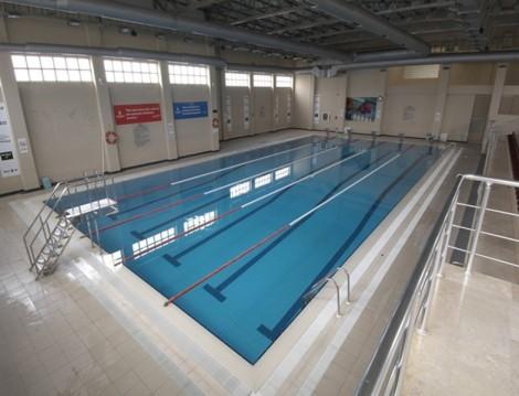 İstanbul'daki Olimpik Havuzlar Yeşilpınar