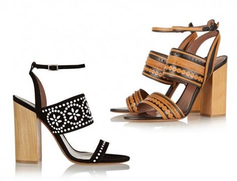 2015 Blok Topuk Ayakkabı Modası
