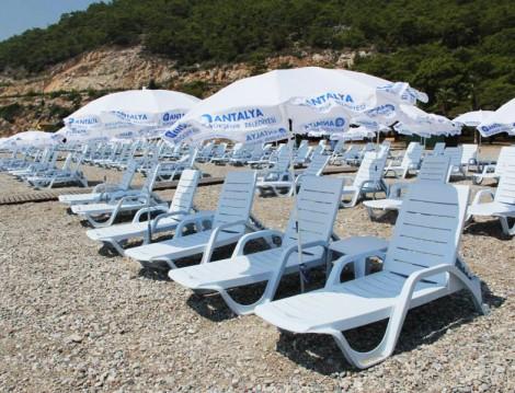 Antalya Sarısu Kadınlar Plajı