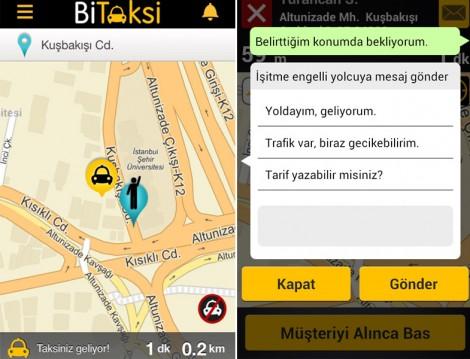 Bitaksi Mobil Uygulamaları