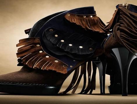 Burberry 2015-2016 Sonbahar Kış Ayakkabı Modelleri