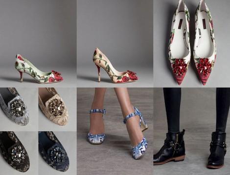 Dolce Gabbana 2015-2016 Sonbahar Kış Ayakkabı Modelleri