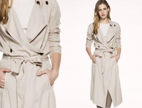 Yazlık Trençkot Elbise Kombinleri