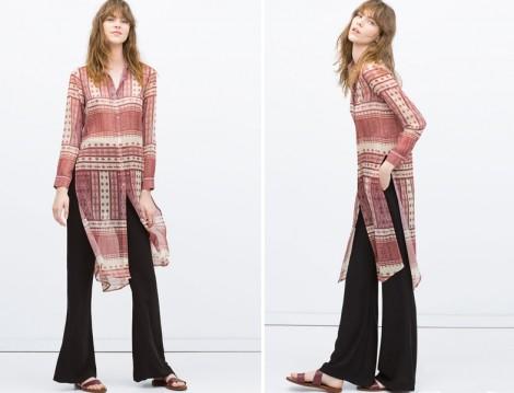 Zara 2015 Tesettür Modelleri