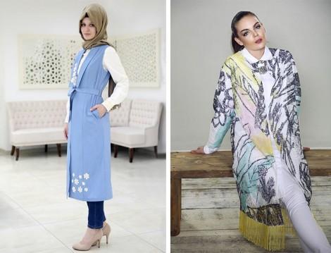 Tasarım Tesettür Giyim Modelleri