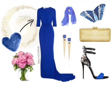 2015 Tesettür Abiye Elbise Kombini