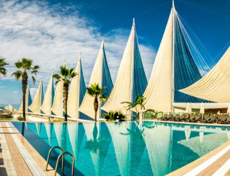 Adin Beach Hotel Muhafazakar-Oteller